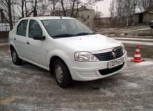 Переславская ОТШ ДОСААФ России получила новый автомобиль марки Рено Логан для практических занятий вождению.