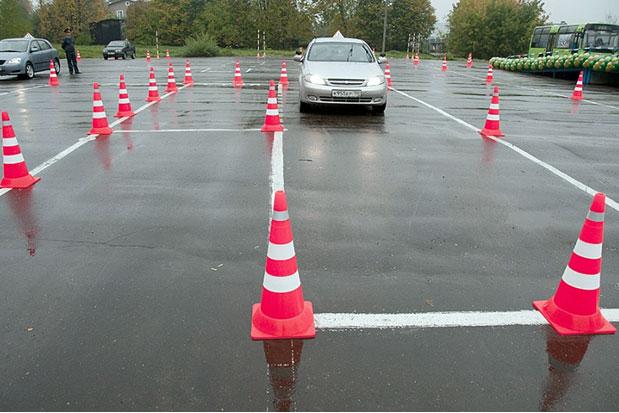 Новые элементы на автодроме и дополнительные вопросы на устном экзамене